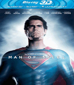 Man of Steel 3D3D Blu-ray