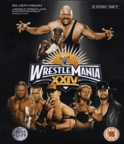 Wrestlemania 24Blu-ray
