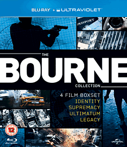 The Bourne Collection with UVBlu-ray