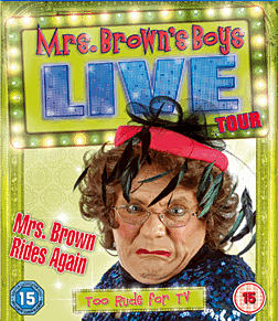 Mrs Brown's Boys Live Tour: Mrs Brown Rides AgainBlu-ray