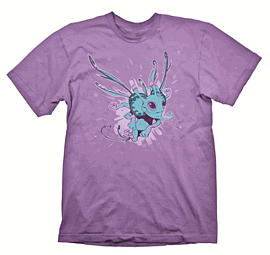 Small DOTA 2 Puck Girlie T-Shirt with Puck Aether Wing DLCClothing and Merchandise