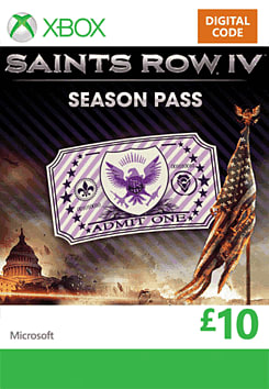 Saints Row IV Season Pass for XBOX360