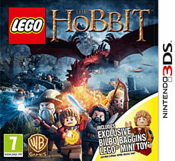 LEGO The Hobbit Videogame with Bilbo Baggins minifigure2DS/3DSCover Art