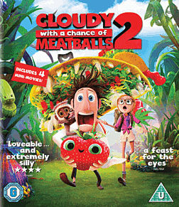Cloudy with a Chance of Meatballs 2Blu-ray