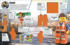 The LEGO Movie Ultimate Sticker Collection screen shot 1