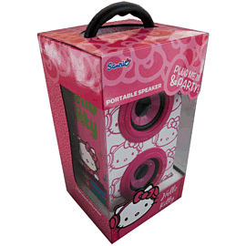 Hello Kitty DJ Party Speakers - PinkAccessories
