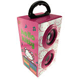 Hello Kitty DJ Party Speakers - Pink screen shot 1