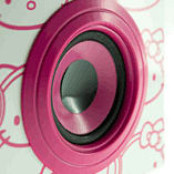 Hello Kitty DJ Party Speakers - Pink screen shot 2