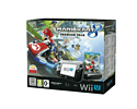 Black Wii U Premium with Mario Kart 8 and Super Mario Kart Racing Wheel Wii U