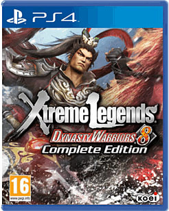 Dynasty Warriors 8: Xtreme Legends Complete EditionPlayStation 4Cover Art