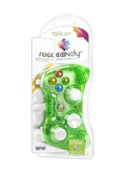 Rock Candy Xbox 360 Controller - GreenAccessories