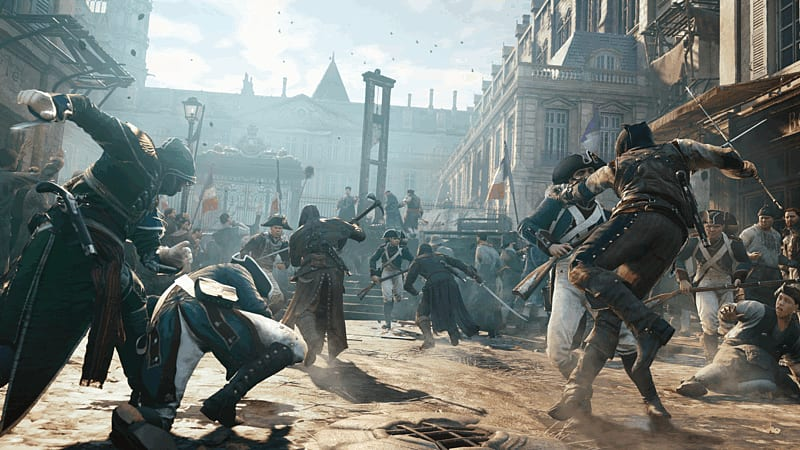 Assassin's Creed Unity on PlayStation 4, xbox One and PC