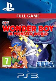 Wonder Boy in Monster World for PS3