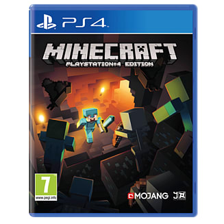 Minecraft on PlayStation 4.