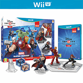 Disney INFINITY 2.0 Marvel Super Heroes Starter Pack for Wii U
