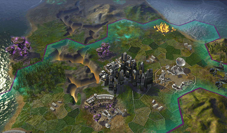 Sid Meier's Civilization: Beyond Earth Screenshots