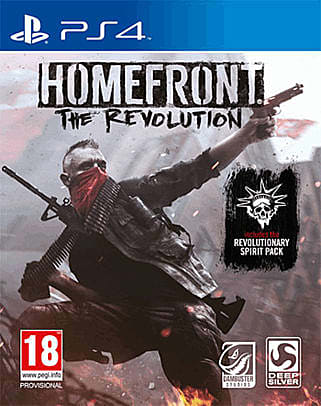 Homefront: The Revolution announced for Xbox One, PlayStation 4 and PC.