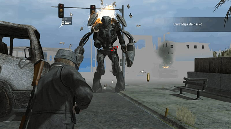 Buy falling skies on xbox 360 free uk delivery game falling skies screen shot 3 voltagebd Images
