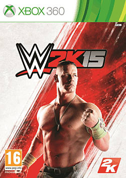 WWE 2K15 for Xbox 360 - also available on XBOX ONE