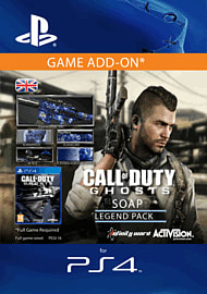 Call of Duty: Ghosts - Legend Pack - Soap for PS4