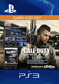 Call of Duty: Ghosts - Soap Legend Pack for PS3