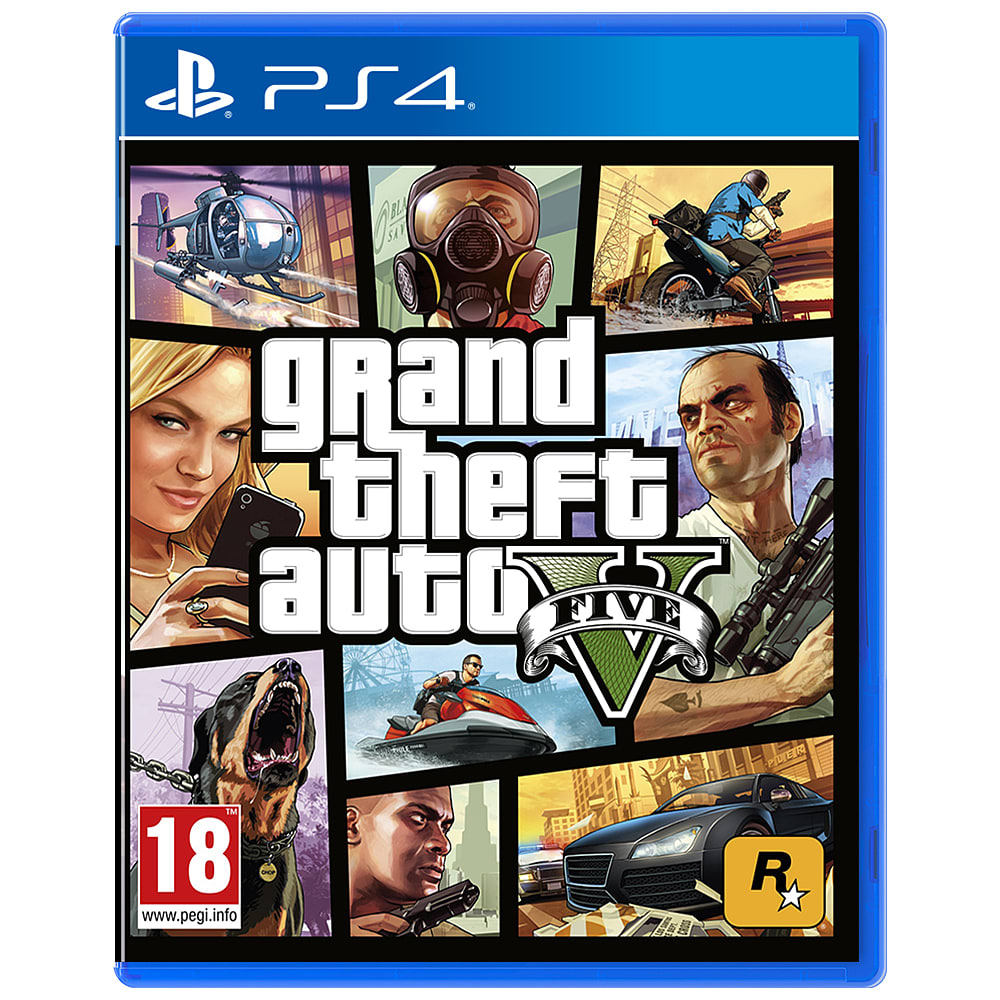 Grand Theft Auto 5 on PS4 at GAME.co.uk