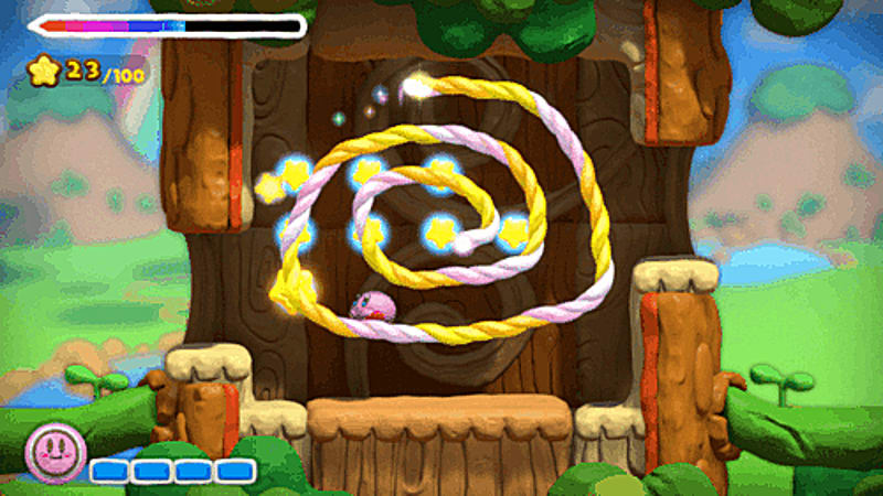 Kirby & The Rainbow Paintbrush on Wii U at GAME.co.uk