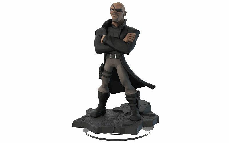 Nick Fury - Disney INFINITY 2.0 Character screen shot 1