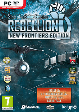 Sins of a Solar Empire: Rebellion - New Frontiers EditionPCCover Art
