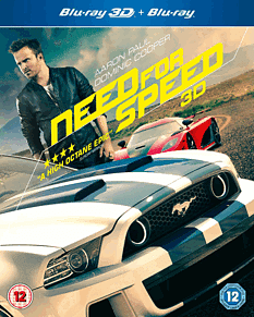 Need For Speed (2D & 3D)3D Blu-ray