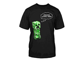 Minecraft Creeper Gonna Creep T-Shirt (Ages 12-13)Clothing and Merchandise