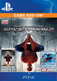 The Amazing Spiderman 2 - Web Threads Suit Pack for PS4