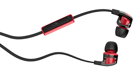 SkullCandy Smokin' Buds 2.0 With In-Line Mic - Black/Red screen shot 1
