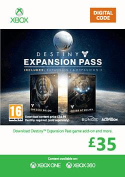 Destiny Expansion Pass Xbox Live