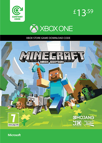 Minecraft Download on XBOX One at GAME.co.uk