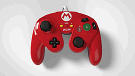 Super Smash Bros Mario Gamecube Controller For Wii U Accessories