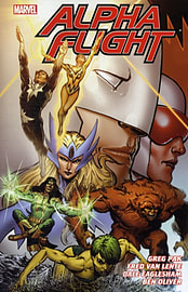 Alpha Flight by Greg Pak and Fred Van Lente Volume 1 (Marvel Premiere Editions) (Hardcover)Books