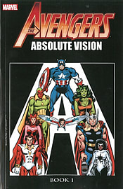 Avengers: Absolute Vision Book 2: (Paperback)Books
