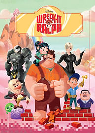 Disney Wreck It Ralph Wreck-It Colouring (Wreck It Ralph Film Tie in) (Paperback)Books