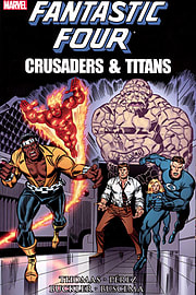 Fantastic Four Crusaders And Titans - SoftcoverBooks