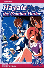 HAYATE THE COMBAT BUTLER 7Books
