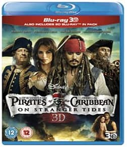 Pirates of the Caribbean: On Stranger Tides (Blu-ray 3D + Blu-ray) [Region Free]Blu-ray