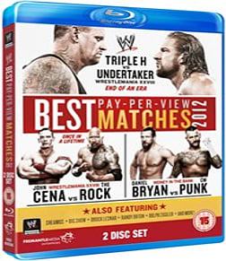 WWE: The Best PPV Matches Of 2012 [Blu-ray]Blu-ray