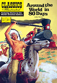 Around the World in 80 Days (Classics Illustrated) (Paperback)Books