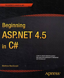 Beginning ASP.NET 4.5 in C# (Experts Voice in .Net) (Paperback)Books