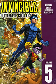 Invincible: The Ultimate Collection Volume 5 (Invincible Ultimate Collection) (Hardcover)Books