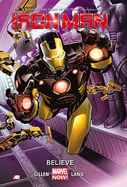 Iron Man Volume 1: Believe (Marvel Now) (Paperback)Books