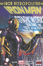 Iron Man Volume 4: Iron Metropolitan (Marvel Now) (Hardcover)Books
