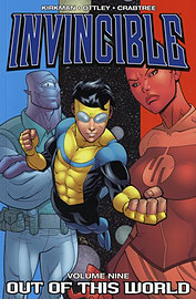 INVINCIBLE;OUT OF THIS WORLD VOL 9Books
