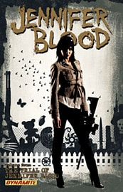 Jennifer Blood Volume 4: The Trial of Jennifer Blood TP (Paperback)Books